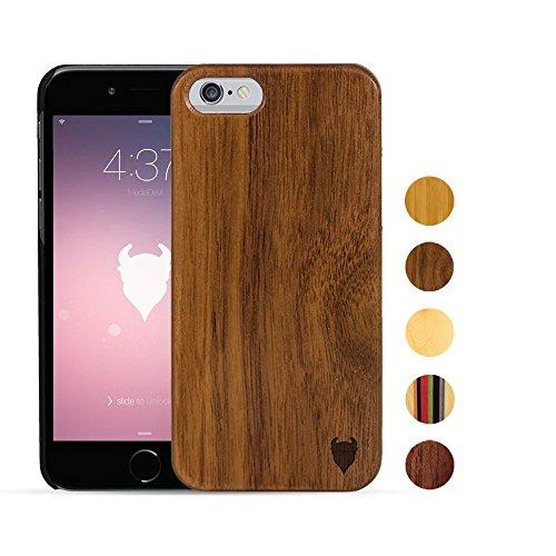 MediaDevil Apple iPhone 6/6S - (Style A) Wood Case (Black Walnut) - Artisancase