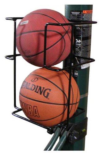 (Basketball Butler 2 Ball Storage Rack)