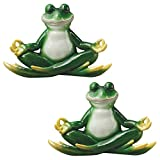 Design Toscano a Pose Zen Yoga Frog Statue (Set of 2) Review