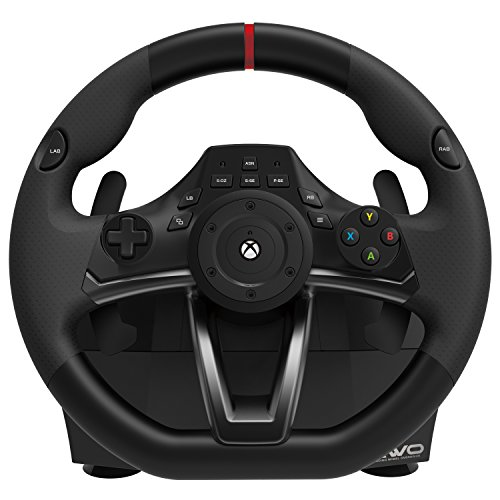 Officially Licensed Spider - HORI Racing Wheel Overdrive for Xbox One Officially Licensed by Microsoft