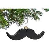archie mcphee Mustache Ornament
