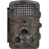 FULLLIGHT TECH 1080P 12 MP Game Trail Camera with Night Vision Motion Activated HD Outdoor MINI Deer Wildlife Camera 1 Year Products Warranty