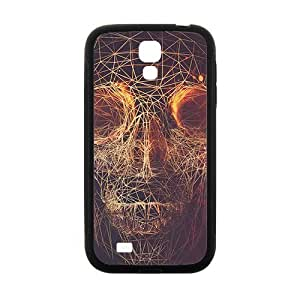 Distinctive Knit lines skull Phone Case for Samsung Galaxy S4