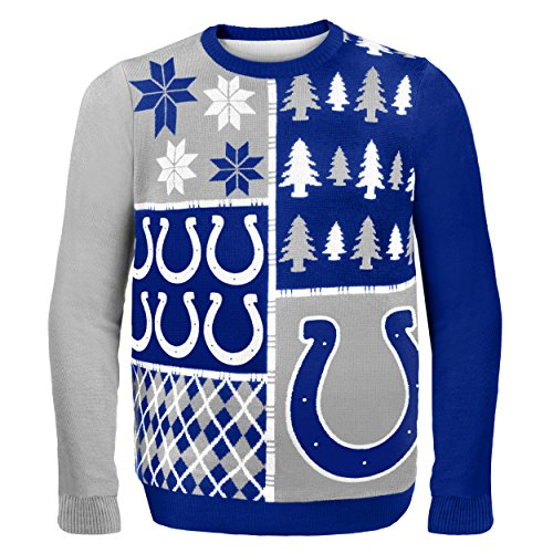 NFL Indianapolis Colts Ugly, Busy, Block Sweater