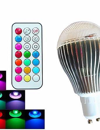 G & g & bombillas globo LED graduable/commandée remoto/decorativa RGB SchöneColors