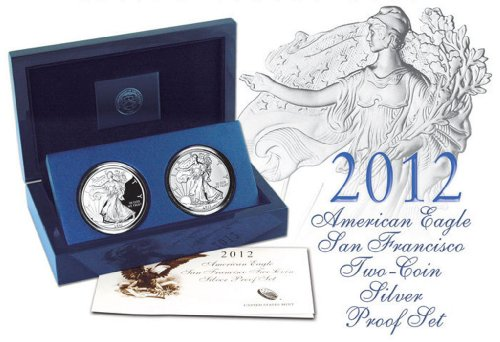 (2012 Proof & Reverse Proof 2 Coin Anniversary Set NOW)
