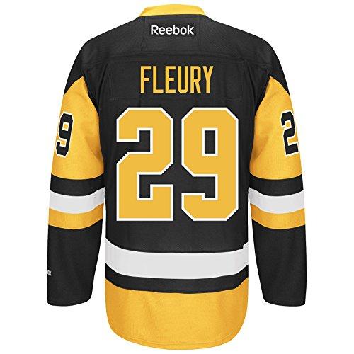 Marc-Andre Fleury Pittsburgh Penguins Reebok 2014-15 Premier Replica Alternate - Size XX-Large