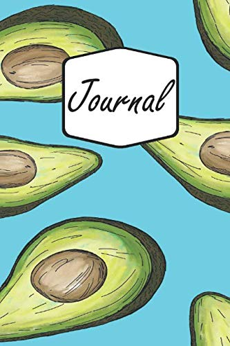 Journal: Avocado | Colorful Life Mindfulness Notebook Diary & Planner to Write in for Women, Men, and Kids (6x9 inch | lined paper | Soft Cover | 100 Pages) (E Fun Netbook)
