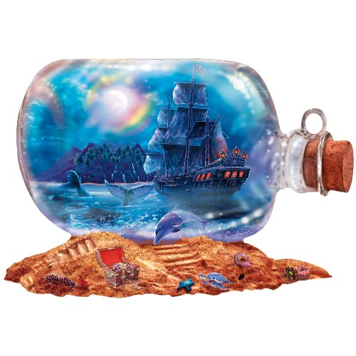 Sunsout Run Aground Shaped Jigsaw Puzzle 1000pc