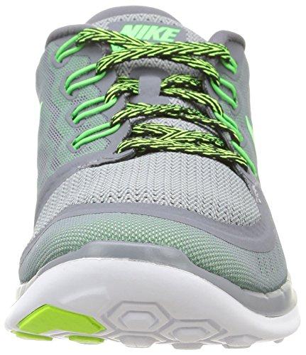Nike Free 5.0 - Scarpe Sportive da Uomo Grigio (Cool Grey/Grn Strike-vltg Grn)
