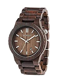 WeWOOD UK Arrow Watch Chocolate