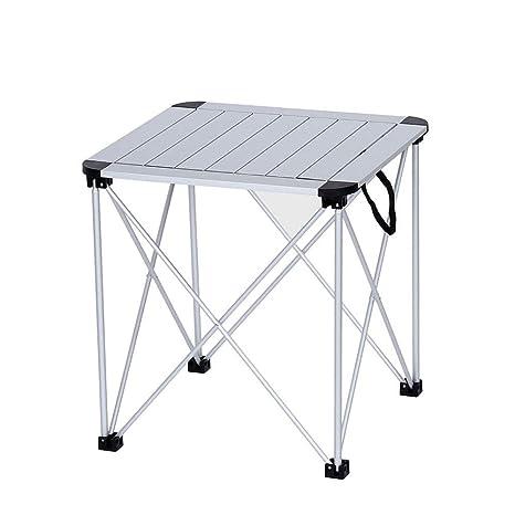 Amazon.com: Mesa plegable de aleación de aluminio ZK, ligera ...