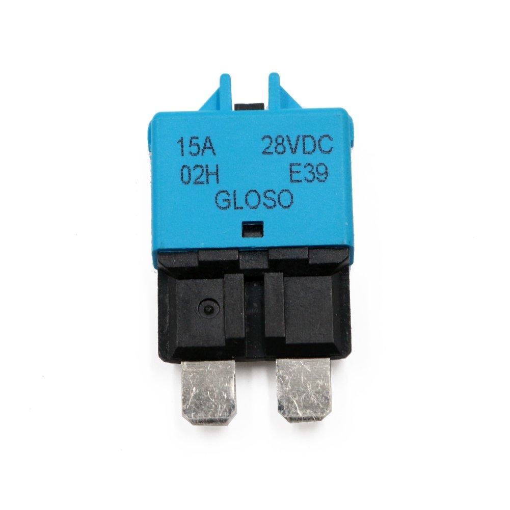 Amazon.com: T Tocas Manual Reset Low Profile ATC Circuit Breakers ...