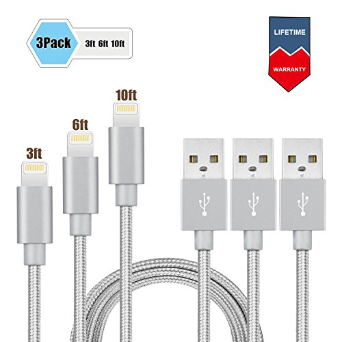 BUDGET GOOD Lightning Braided Charger product image