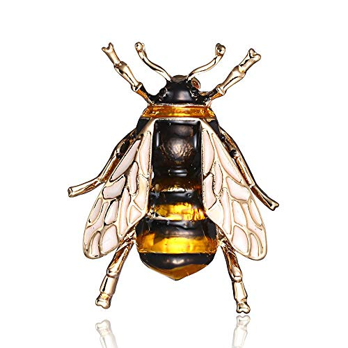 Bee Brooch For Women Kids Girls Bee Jewelry Gold Color Yellow Green Enamel Brooches Jewelry Bumble Bee 1