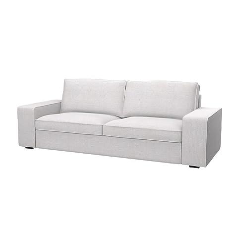 Soferia - IKEA KIVIK Funda para sofá de 3 plazas, Naturel ...