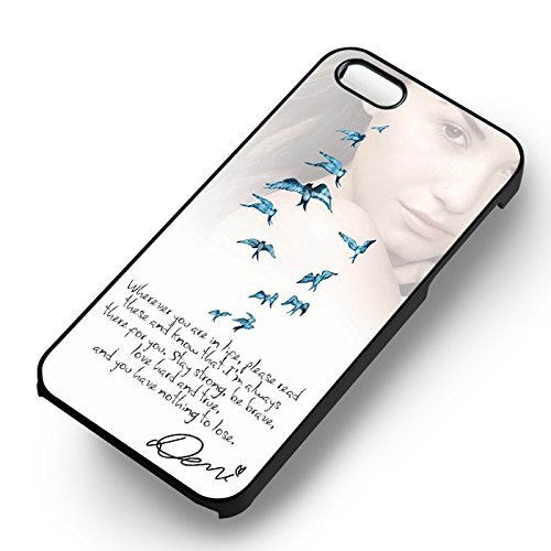 Popular Encouraging Quotes pour Coque Iphone 6 et Coque Iphone 6s Case (Noir Boîtier en plastique dur) Q3T4FB
