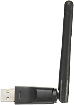 Black 300Mbps High Speed USB WiFi Adapter USB2.0 Wireless Network Card WiFi Receiver 2dBi Antenna for windows2000 // XP//Vista Win7//8//10