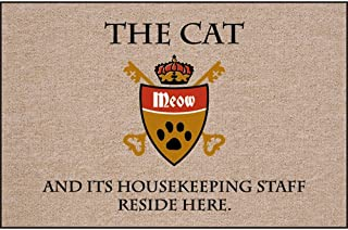 product image for High Cotton Cat and Housekeeping Staff Doormat