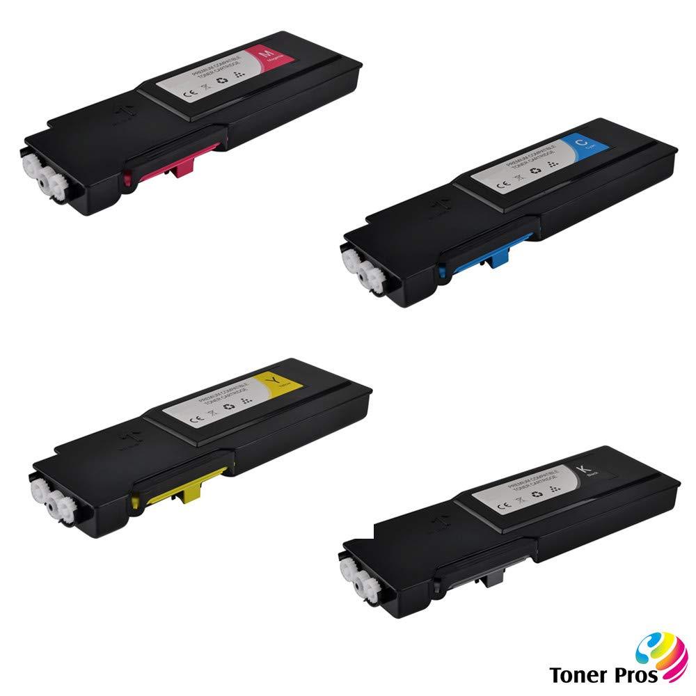 Toner Alternativo ( X4 ) Alta Capacidad 4 Colores C400 C405 106R03524 106R03525 106R03526 106R03527