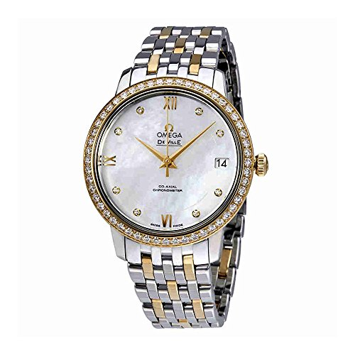 Omega-De-Ville-Mother-of-Pearl-Dial-Ladies-Watch-42425332055001