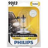 Philips H1Bombilla de Repuesto Estándar, (Pack de 1), 9003 / B1