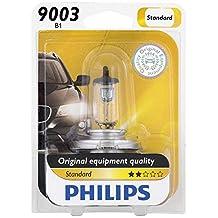 Philips 9003B1 Standard Halogen Headlight Bulb, 1 Pack