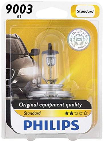 Philips 9003 Standard Halogen Replacement Headlight Bulb, 1 Pack (Toyota Headlights Tercel 1997 compare prices)