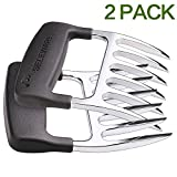 SELEWARE [ 2-Pieces] Innovative Meat Claws, BBQ Meat Forks, Pulled Pork Shredder Claws for Lift, Handle, Shred, and Cut Meats, Ultra-Sharp Blades BPA Free Barbecue Paws