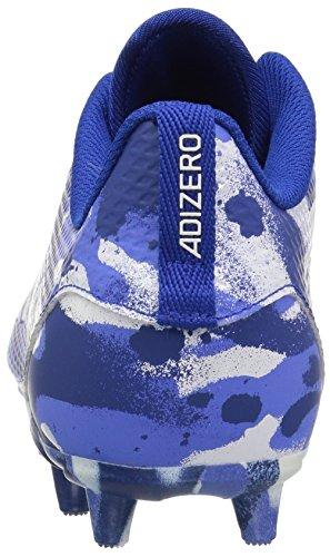 adidas Unisex Adizero 5-Star 7.0 Football Shoe, White/Collegiate Royal/hi-res Blue, 5 M US Big Kid by adidas (Image #2)