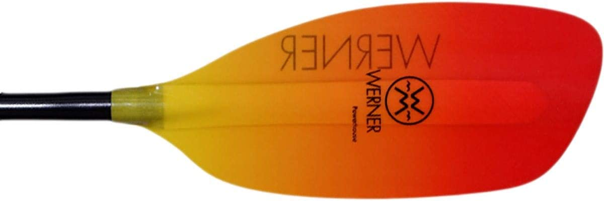 Werner Powerhouse Fiberglass Straight Shaft Whitewater Kayak Paddle