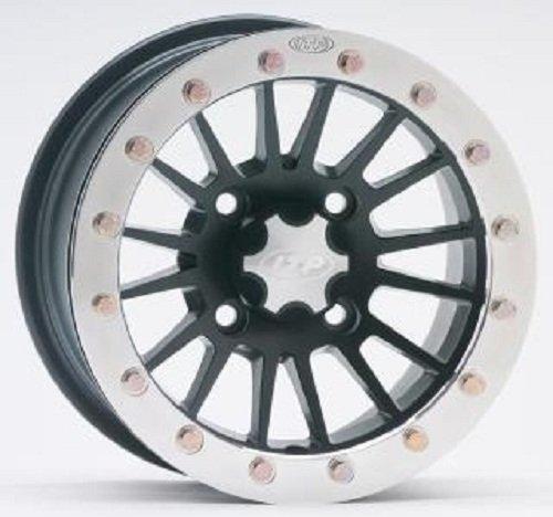 ITP SD-Series Single Beadlock Wheel - 12x7 - 4+3 offset - 4/156 - Matte Black , Bolt Pattern: 4/156, Rim Offset: 4+3, Wheel Rim Size: 12x7, Color: Black, Position: Front/Rear 1228528536B