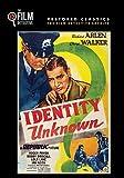 Identity Unknown (The Film Detective Restored Version)
