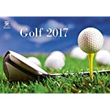 Golf Calendar - 2017 Calendar - Golf Courses Calendar - Links Calendar - Golf Course Calendar - Photo Calendar - Sports Calendar By Helma