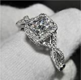 Lovely Ring - Classic Princess Cut White Topaz - Best Reviews Guide