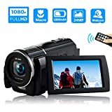 Video Camera Camcorder Full HD 1080P 30FPS Digital Video Camera Camcorder Macro Digital