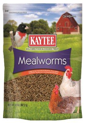 Kaytee Wild Bird Mealworm Pouch 32oz