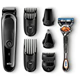 Braun 7-in-1 All-In-One Trimmer MGK5045, Beard...