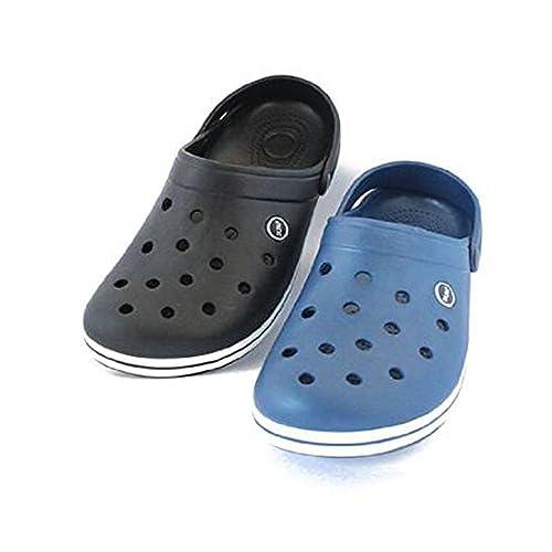 ????? Hausschuhe für Herren Sandale Sandalen Freizeitschuhe Stiefel und Hausschuhe. (Farbe : Schwarz Größe...