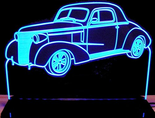 ValleyDesignsND 1938 Chevy Coupe 2dr Acrylic Lighted Edge Lit 12