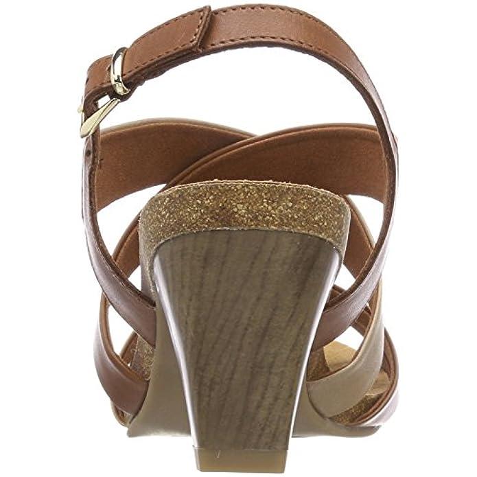 Scarpe E Borse Da Donna Sandali Caprice 28310 Col Tacco Con Cinturino A T