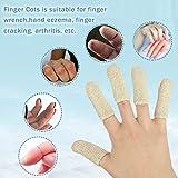 EvridWear 20 Cots Cotton Elastic Blend, Finger Toe