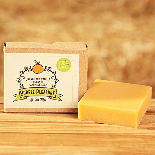 bubblepleasure-organic-natural-soap-100-pure-orange-and-vanilla-handmade-soaps-bar-for-men-women-kid