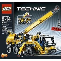 lego technic mini mobile crane 8067 toys games. Black Bedroom Furniture Sets. Home Design Ideas