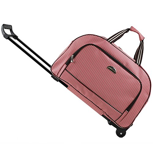 Trolley bag tote Carry-On Luggage Rolling Gym bag 20 Inch ()