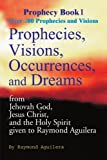 img - for Prophecies, Visions, Occurrences, and Dreams: From Jehovah God, Jesus Christ, and the Holy Spirit Given to Raymond Aguilera, Book 1 (Prophecy Books) by Raymond Aguilera (2000-06-15) book / textbook / text book