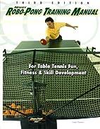 Newgy Robo-Pong Training Manual