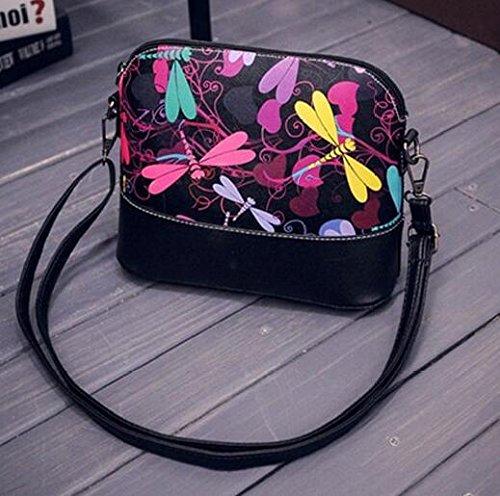 Demarkt 2 à Floral Sacoche Sac Graffiti Cuir Retro Femme Artificiel à Messager Sac Main Imprimé BandoulièRe YCCwxZFq