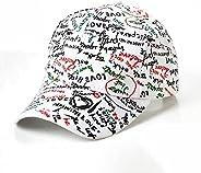 Baseball Cap Graffiti Baseball Cap Men Women Letter Print Snapback Sports Sunshade Sun Hat Teenage Hip Hop Uni