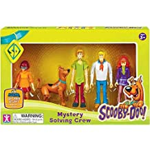 Scooby Doo ScoobyDoo Mystery Mates Figure 5Pack Mystery Solving Crew, Multicolor